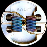 Premade coil baby Alien Fused Clapton meletek