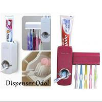 Dispenser Odol dan Tempat Pasta Gigi Toothpaste Dispenser