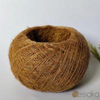 kokedama pot sabut kelapa bulat siap pakai tanaman indoor sansevieria
