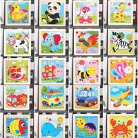 puzzle 9pcs untuk bayi anak jigsaw