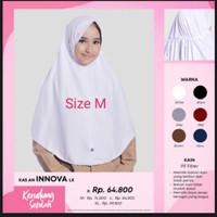 Rabbani Innova Lx Putih M Kerudung Sekolah Hijab Jilbab Scarf Khimar
