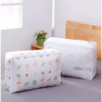 Storage Bag Cloth Dust Cover Tempat Bed Cover Pakaian 5740x23CM