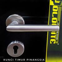 Handle pintu + mortise lock dolomite hp 106