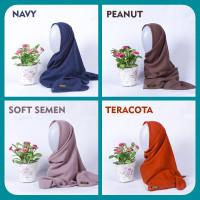 Hijab Atakaye Bubble Voile Non Pad Anti Air Untuk Acara Wisuda jilbab