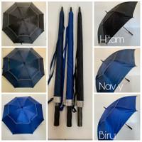 Payung Gof / Payung Besar / Golf Jumbo SUSUN anti angin otomatis buka
