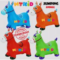 Jumping animal music - mainan tunggang / kuda-kudaan karet
