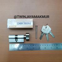 CYLINDER KUNCI DEKKSON TC 60mm SN