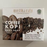 MUSTIKA RATU COFFEE KOPI BODY SOAP 85 GR SABUN BATANG