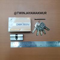 CYLINDER KUNCI DEKKSON DC KK 60mm SN