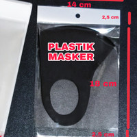 Plastik Bungkus Masker / Plastik Opp Seal Lem Plong Bening Display