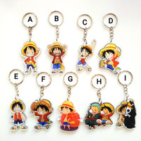Keychain Luffy One Piece / Gantungan Kunci Anime
