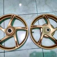 Velg racing motor mio sporty, mio smile, gold