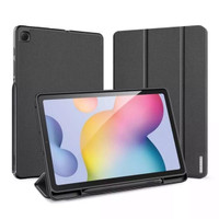 Samsung Tab S6 Lite Premium Smartcase-Flipcase-Cover Original-Hitam