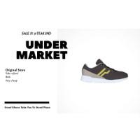 sepatu sneakers pria piero vx9 phantom grey