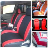 Sarung Jok Mobil 3 Baris Standard/Avanza/Xenia/ Ertiga/panther/xpander