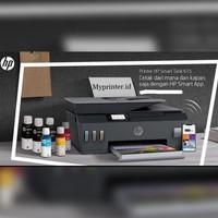 Printer HP Smart tank 615 ink tank print - copy - scan - fax - wireles