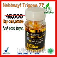 Habbasyi Trigona Oil 77 isi 60 Kapsul Zaitun Plus Habbatusauda Garlic