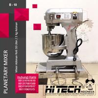 Planetary Mixer 10L, Mixer Roti 10L. B10