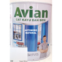 Cat Besi / Kayu Avian Putih (Super White)