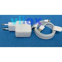 tc charger cas ipad air mini 1 2 3 4 5 12watt kabel lightning 2 meter