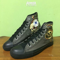 SEPATU CONVERSE CHUCK TAYLOR ALL STAR x SAILOR JERRY BEKAS / SECOND