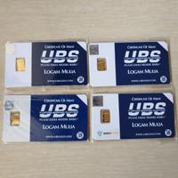 Logam Mulia 0,5 gram UBS