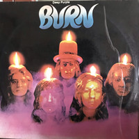Piringan hitam /vinyl Deep Purple Burn