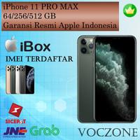 (IBOX) Apple iPhone 11 Pro Max 512GB - Garansi Resmi iBox Indonesia - Midnight Green