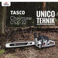 Mesin gergaji Kayu Chainsaw TASCO CSX 22 potong pohon
