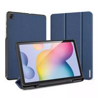 Samsung Tab S6 Lite Premium Smartcase-Flipcase-Cover Original-Biru