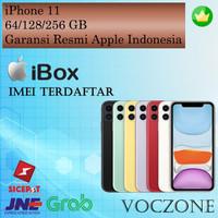 (IBOX) Apple iPhone 11 128GB - Garansi Resmi iBox Apple Indonesia - Red