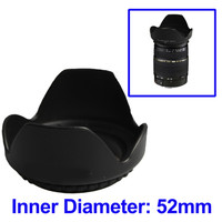 Lens Hood for Cameras 52mm (Screw Mount)