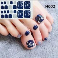 HN - Stiker Kuku Kaki dan Tangan / Nail Art Sticker