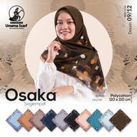 TERLARIS! Kerudung Umama Osaka Motif Segi Empat Jilbab Hijab