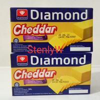 Keju Cheddar Diamond 180 Gr / Diamond Cheddar