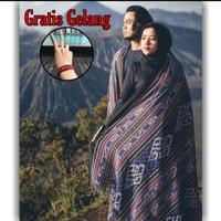 Kain Tenun Blanket Etnik Tenun Ikat Blanket Jepara Motif Toraja
