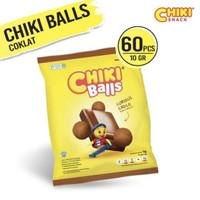 Chiki Balls rasa Coklat (1 renceng isi 10 pcs)