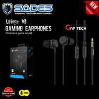 Sades WINGS 10 / WINGS10 / WING 10 / WING10 Gaming Earphones Original
