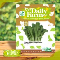 Daily Farm - Benih Sawi Hijau - Bibit Sawi Bakso - Benih Caisim