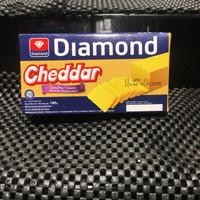 keju diamond cheddar cheese 180grm
