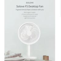 Xiaomi MI Solove Table Fan F5 Kipas angin meja Desktop Fan USB Chargin - Putih