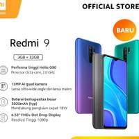Xiaomi Redmi 9 Ram 4/64 Internal 64Gb Garansi Resmi