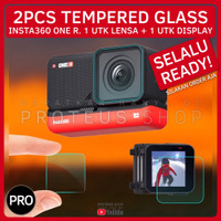 ✅ TEMPERED GLASS SCREEN LENS PROTECTOR INSTA360 ONE R ANTI GORES