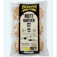 Roti burger polos Bernardi isi 6 pcs