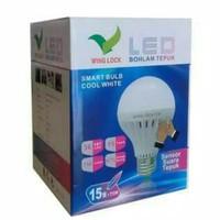 LAMPU BOHLAM LED SENSOR TEPUK / LAMPU LED 15 WATT SENSOR SUARA