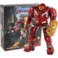 Action Figure Hulkbuster Avengers Endgame With Infinity Gauntlet