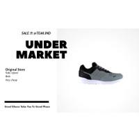 sepatu sneakers pria piero wolf grey
