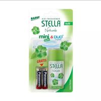 Refill Stella Mini Matic & Duo Matic Green Fantasy 40ml + Baterai