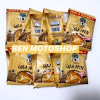 Top Coffee Gula Aren Hitzz 1 Renceng 10 Sachet - Kopi 3 in 1 Dus
