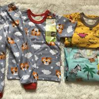 Setelan baju bayi lengan pendek celana panjang Velvet Junior piyama S